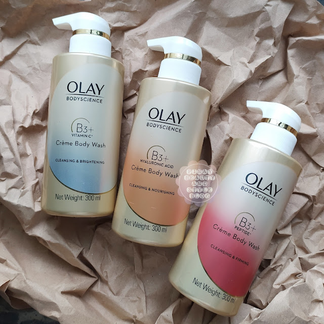 Olay Body Wash Review - All 3 BodyScience Body Wash with Niacinamide!