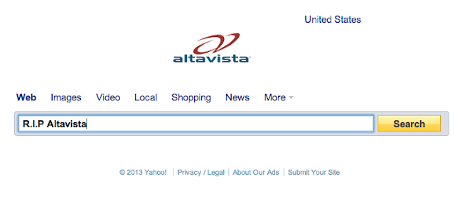 Altavista gets canned, only 7 days left before it goes offline for good