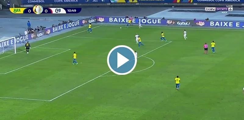 Brazil vs Chile Live Score