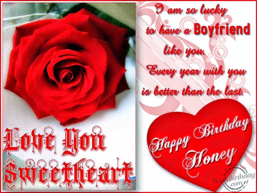 Happy Birthday Wishes For Him My Love I