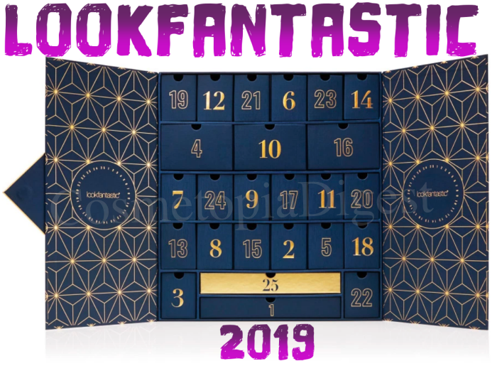Full spoilers and contents of the LookFantastic Beauty Advent Calendar for 2019.
