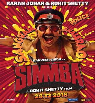 Simmba (2018) Star Cast & Crew, Story, Trailer, Budget, Wiki