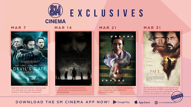 Test Your Courage and Mettle with SM Cinema Exclusives this Month of March