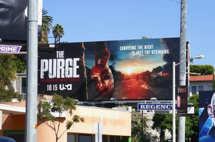 Purge season 2 billboard