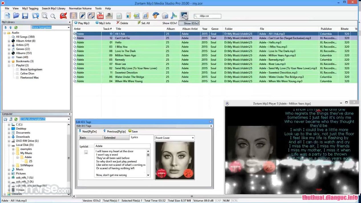 Download Zortam Mp3 Media Studio 23.80 Full Cr@ck