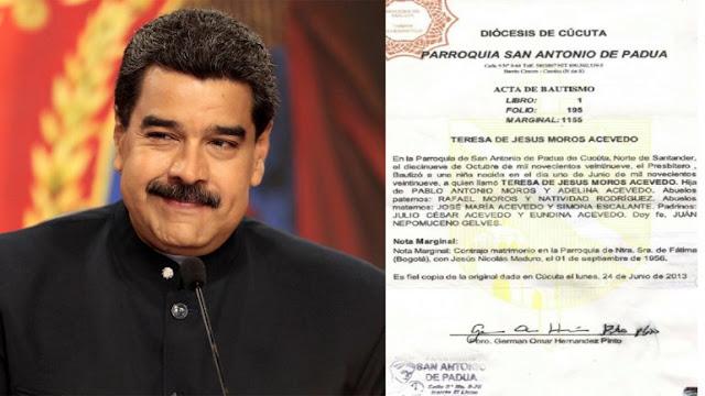 """Expresidente Pastrana: """"Ya no hay duda de que Maduro es colombiano"""""""