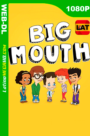 Big Mouth (Serie de TV) Temporada 1 (2017) Latino HD WEB-DL 1080P - 2017