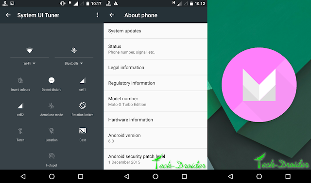 Motorola Moto G Turbo starts receiving Android Marshmallow Screenshots