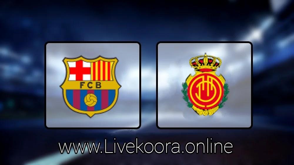 تحليل مباراة مباراة برشلونة و ريال مايوركا 4-0