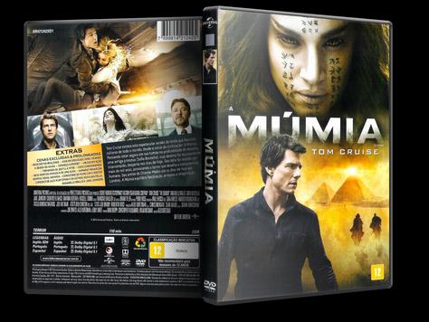 Capa DVD A Múmia
