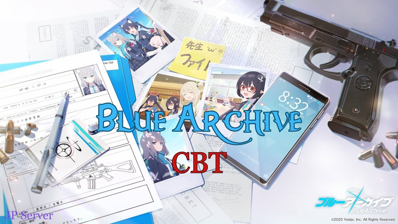 Blue Archive - New Waifu Mobile Game from Yostar