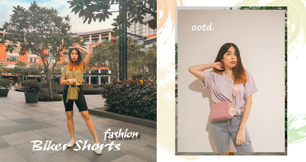 Biker Shorts | Weekend Outfit #SharonOOTD