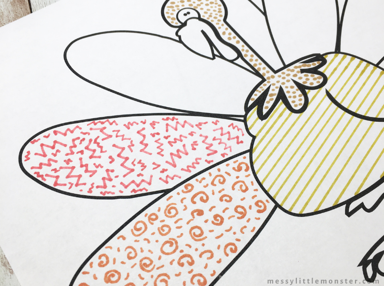 printable Thanksgiving colouring page