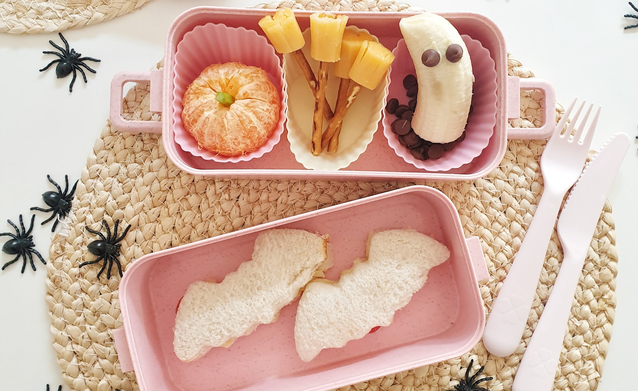 Toddler halloween Lunch