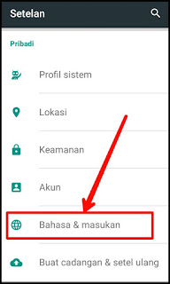 Cara Menulis Bahasa Arab di Android