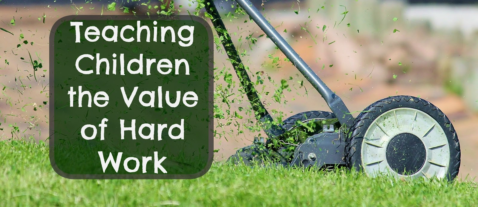 our unschooling journey through life teaching a good work ethic i think the ability to work hard and the satisfaction one gets from knowing a job has been well done are valuable life skills that will take them far