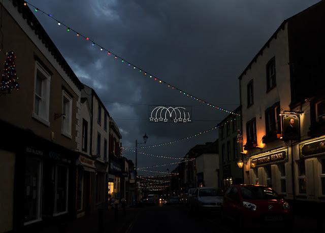 Photo of Maryport Christmas lights