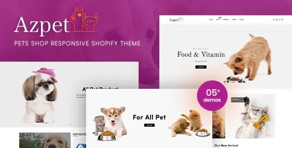 Best Pet Food Shop Responsive Shopify Theme