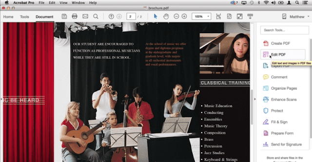 Klik pada 'Edit PDF'