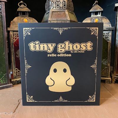Tiny Ghost Relic Edition Bronze Statue by Reis O'Brien x Bimtoy x Bottleneck Gallery