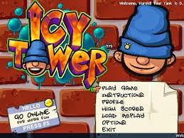 لعبة القفز فى برج الجليد فلاش اون لاين Icy tower game Online