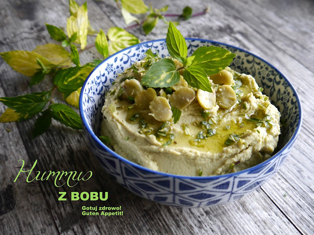 Hummus z bobu - Czytaj więcej »