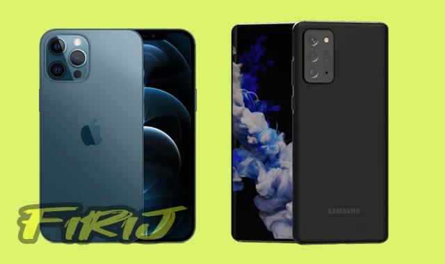 Comparaison entre Samsung Galaxy S21 contre iPhone 12
