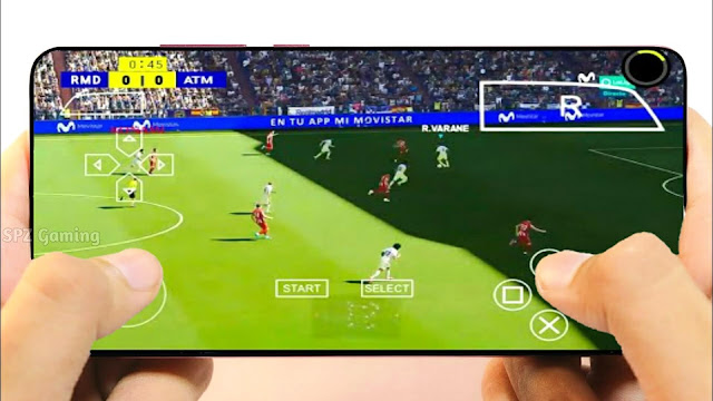 PES 2022 PPSSPP (500MB) Android Offline PS5 Best Graphics Real Faces Latest Kits & Transfers 2022