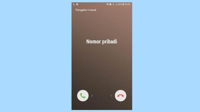 Cara sembunyikan nomor telepon saat menelepon