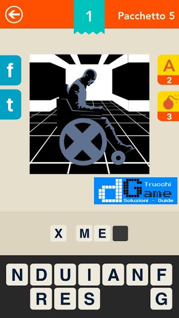 Indovina il film! Logo Quiz soluzione pacchetto 5 livelli 1-25