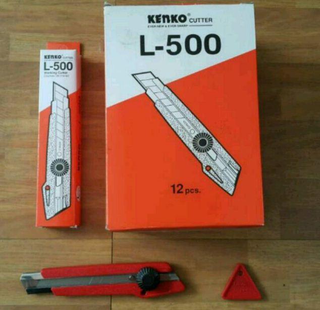 pisau-cutter-kenko-l-500