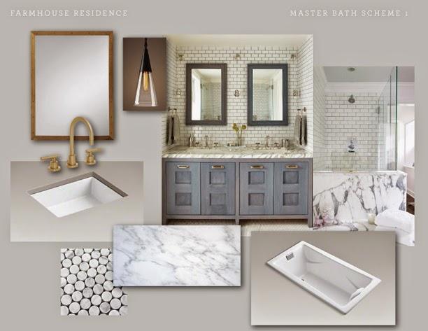 Nest studio urban farmhouse reveal the master bath Urban farmhouse master bedroom