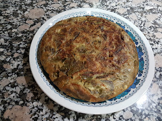 Tortilla De Habas En Fussioncook