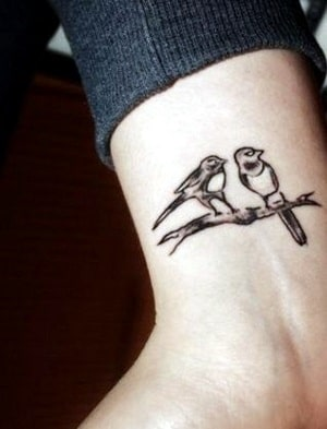 bird tattoos on wrist