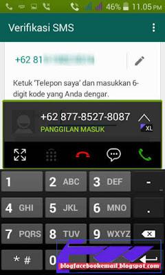 buat dan daftar  whatsapp android mudah dan cepat