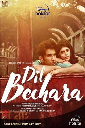 Dil Bechara (2020) Full Movie [ Free Watch Online On Hotstar Disney Plus ]