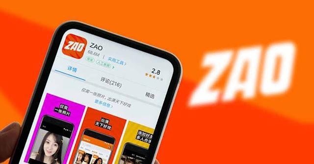 عريب تطبيق zao للاندرويد و الايفون 2019