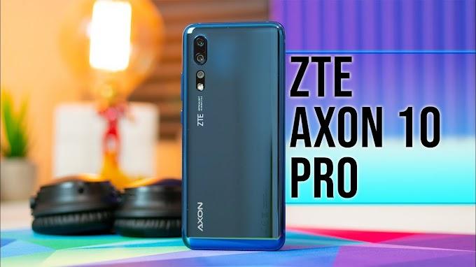 Sorteio de um Smartphone ZTE Axon 10 Pro!