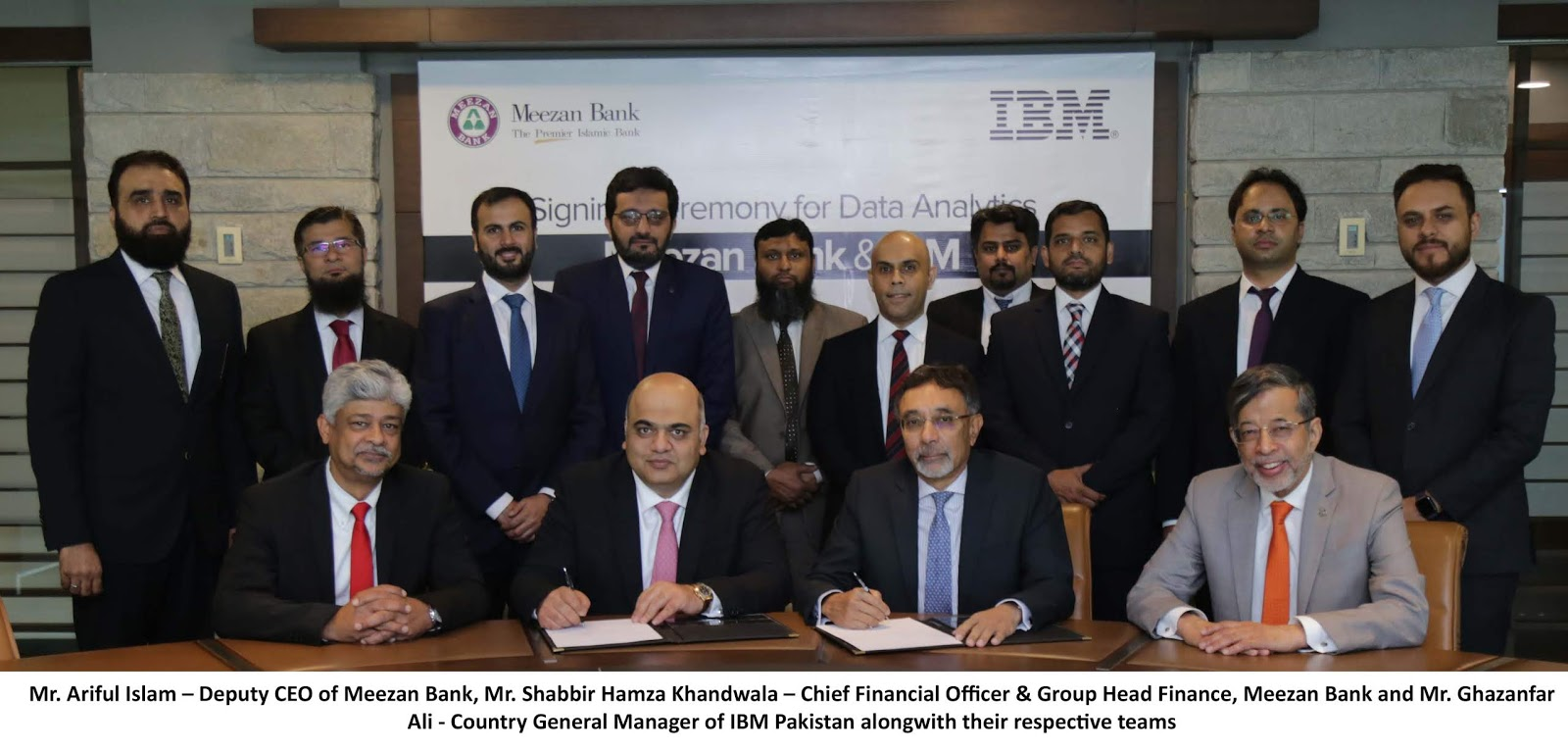 Meezan Bank partners with IBM Analytics to Create Data-Driven Customer Experiences!