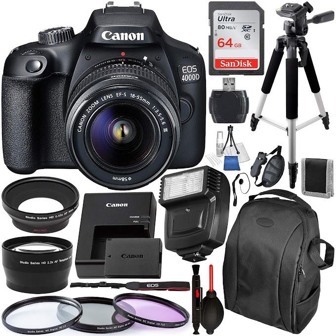 Canon EOS 4000D/Rebel T100 DSLR Camera Review