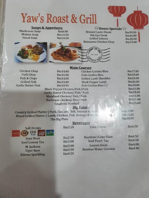 Yaw's Roast & Grill @ Pulau Tikus Penang