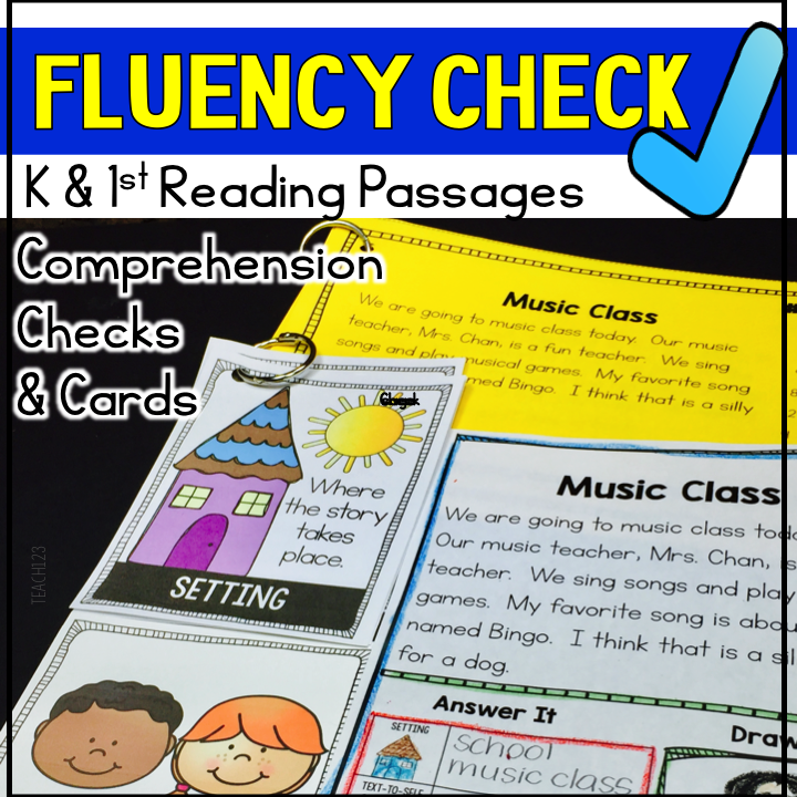 Fluency Passages - K/1 - Vol. 2