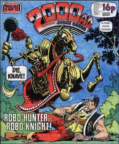 2000 AD Prog 264, Robo-Hunter