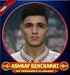 Ashraf Bencharki لاعب فريق الزمالك - PES 2017