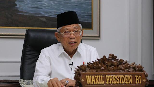 Ma'ruf Amin Minta Para Ulama Juga Berperan dalam Menangani Dampak Corona di Indonesia