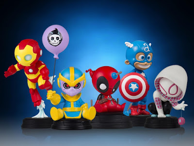 Animated Marvel Mini Statue Collection by Skottie Young & Gentle Giant