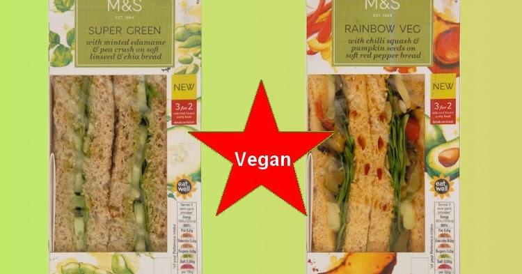 Marks and Spencer's Vegan Salad Sandwich Goes Viral