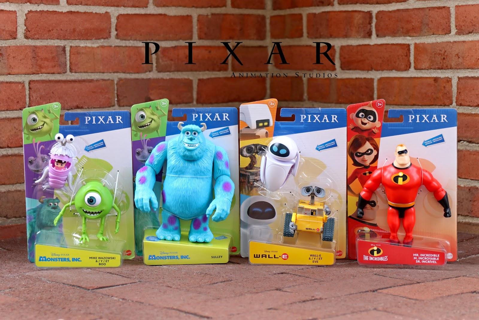 mattel pixar action figures