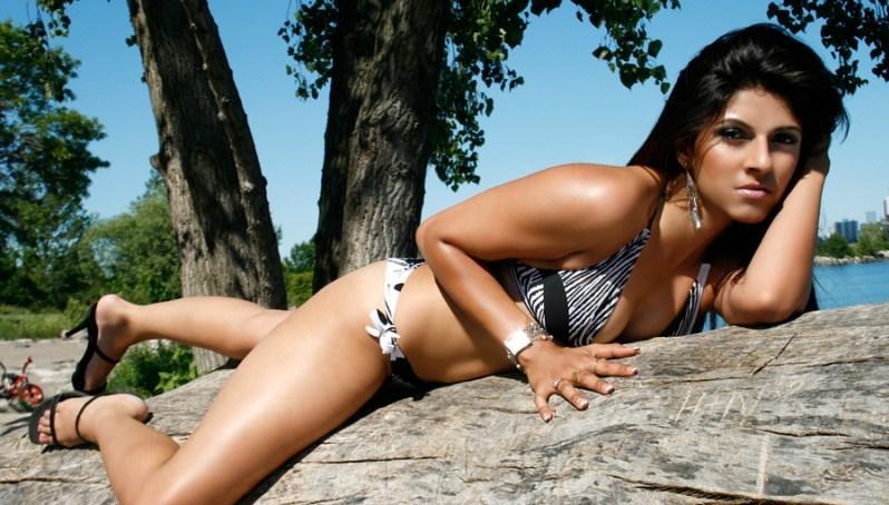 Pakistani actress bikini
