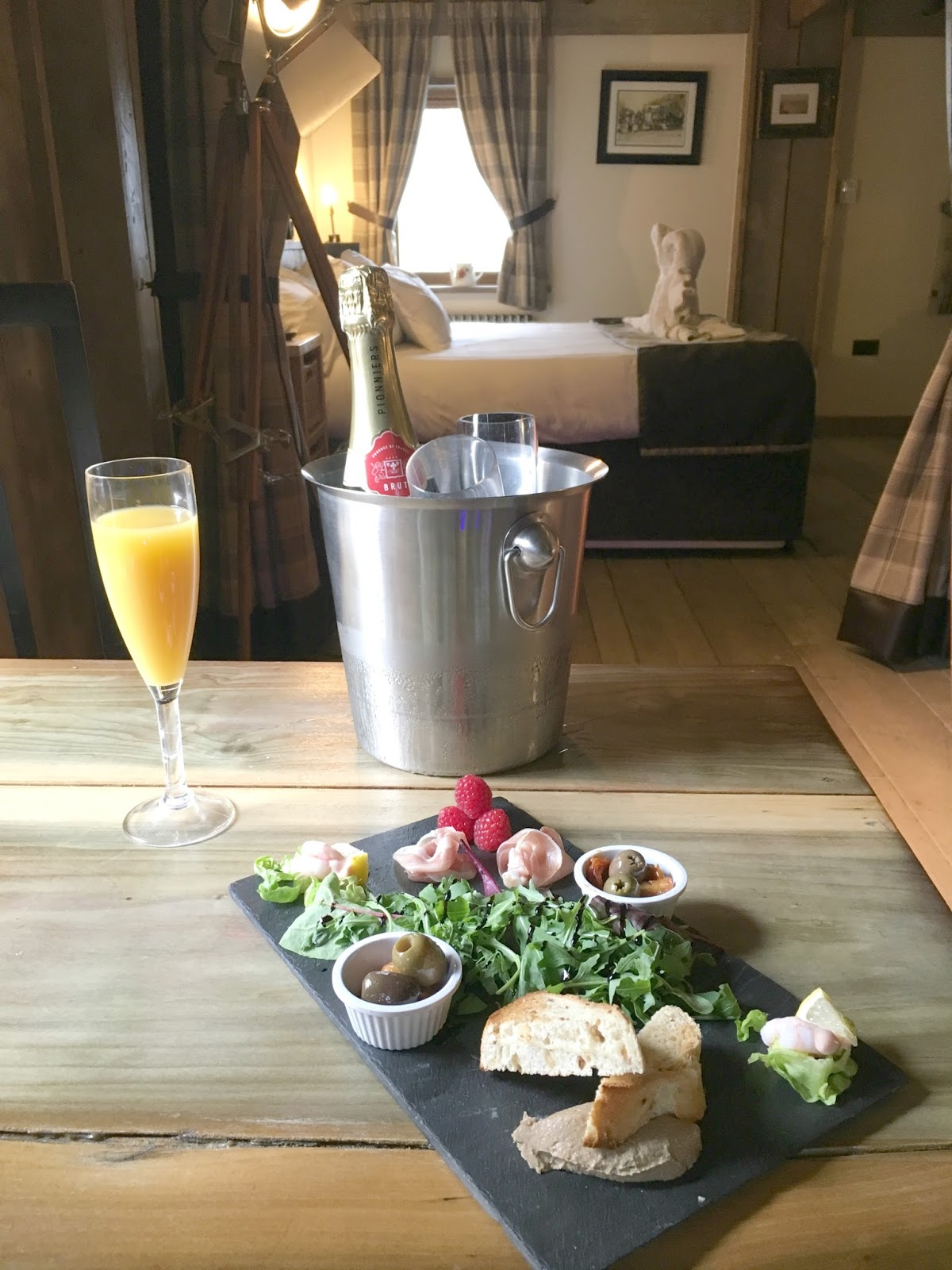 Wedding Anniversary Stay at the South Causey Inn, County Durham - Canapes